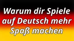 Spiele auf Deutsch