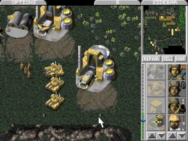 Echtzeit Strategiespiele - Command & Conquer