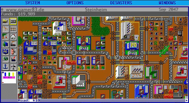 Sim City Maxis 1989