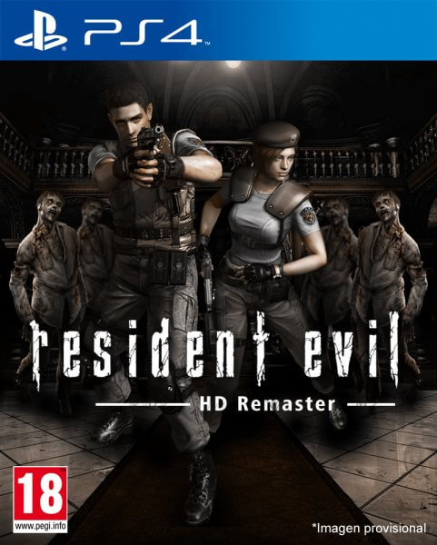 Resident Evil HD Remastered Cover