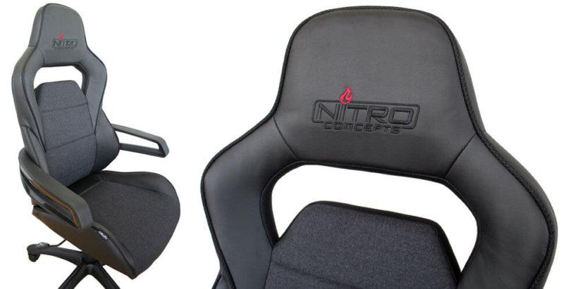 der nitro concepts e220 gaming stuhl im test. Black Bedroom Furniture Sets. Home Design Ideas