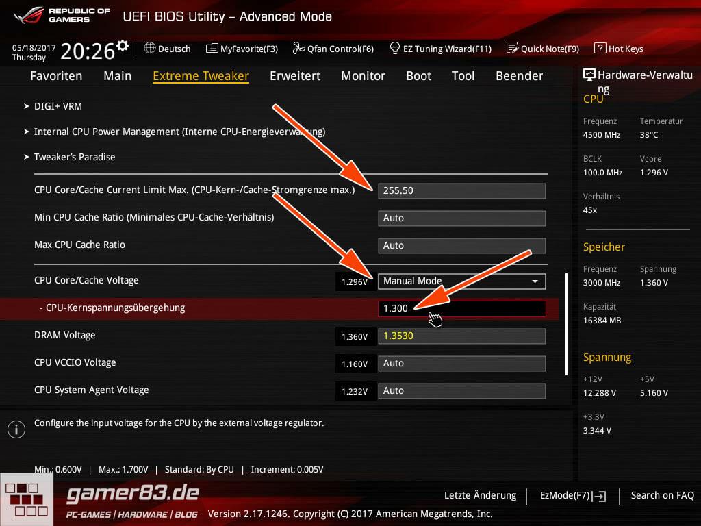 Intel Core i7 6700K übertakten