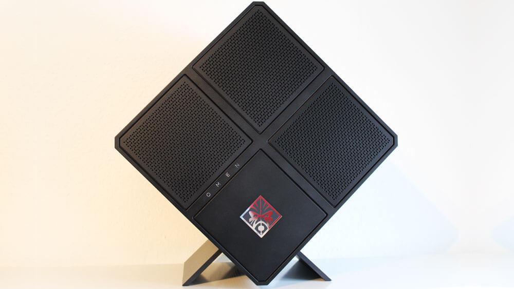 gastartikel der gaming pc hp omen x im test. Black Bedroom Furniture Sets. Home Design Ideas