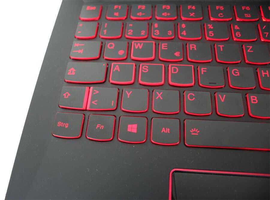 Lenovo Legion Y520 - Tastatur