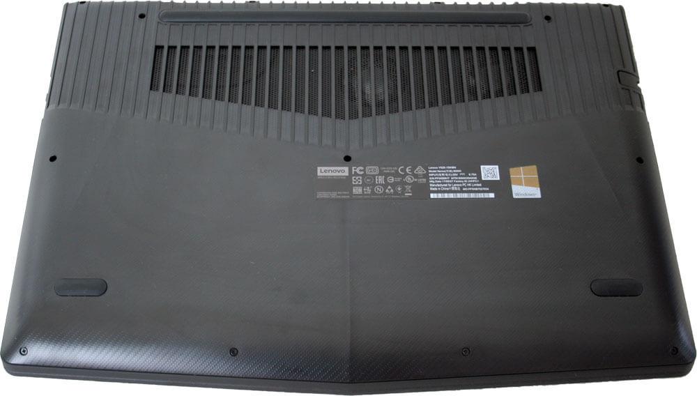 Lenovo Legion Y520 - Unterseite