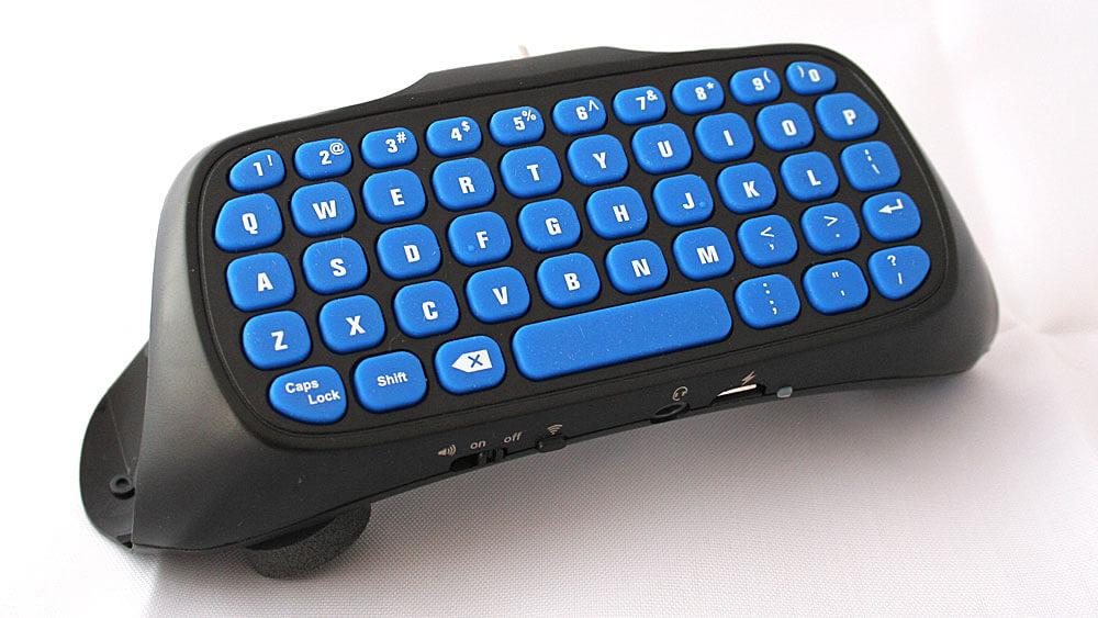 Tastatur für PS4 Controller