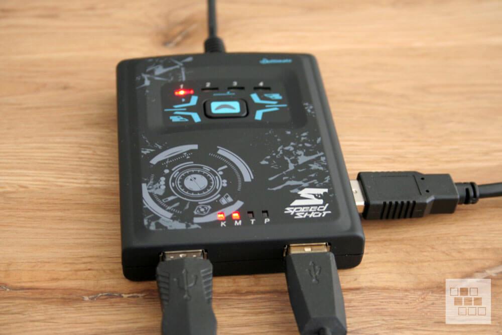 PS4 mit Maus und Tastatur - Hama Speedshot