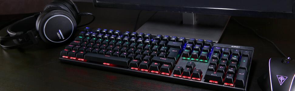 Aukey KM-G6 Beleuchtung