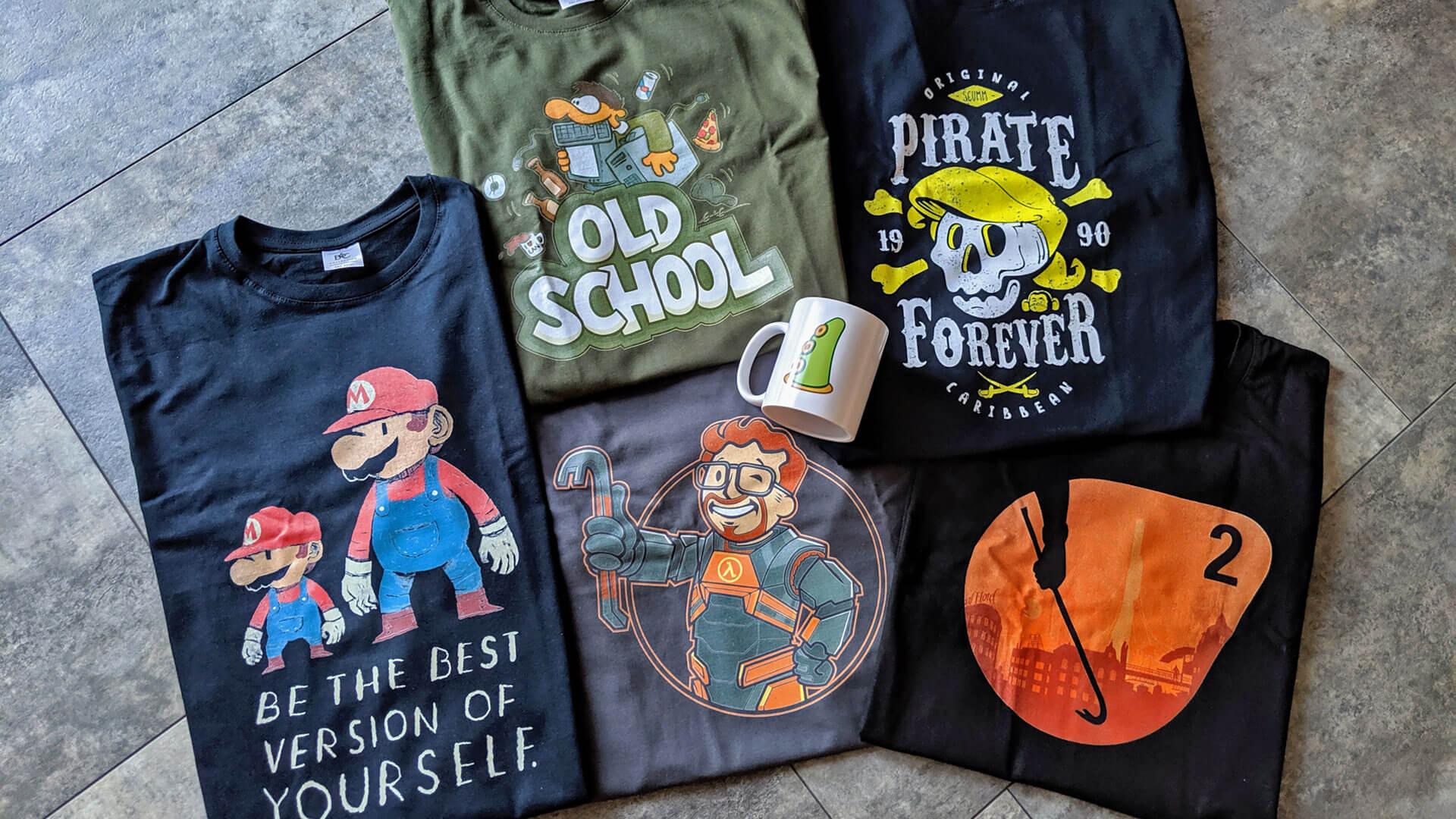 Gaming-T-Shirts-Supergeek