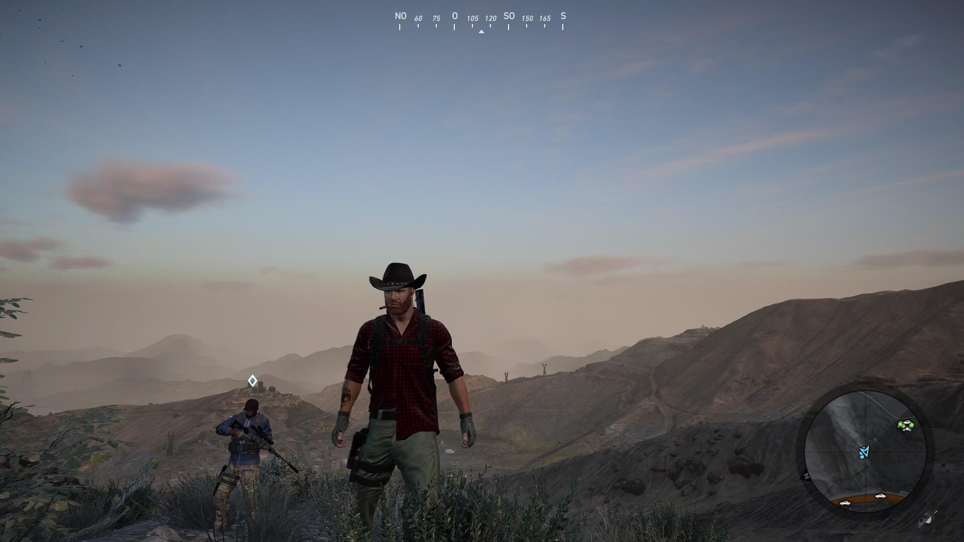 Spielszene aus Ghost Recon Wildlands ohne HDR