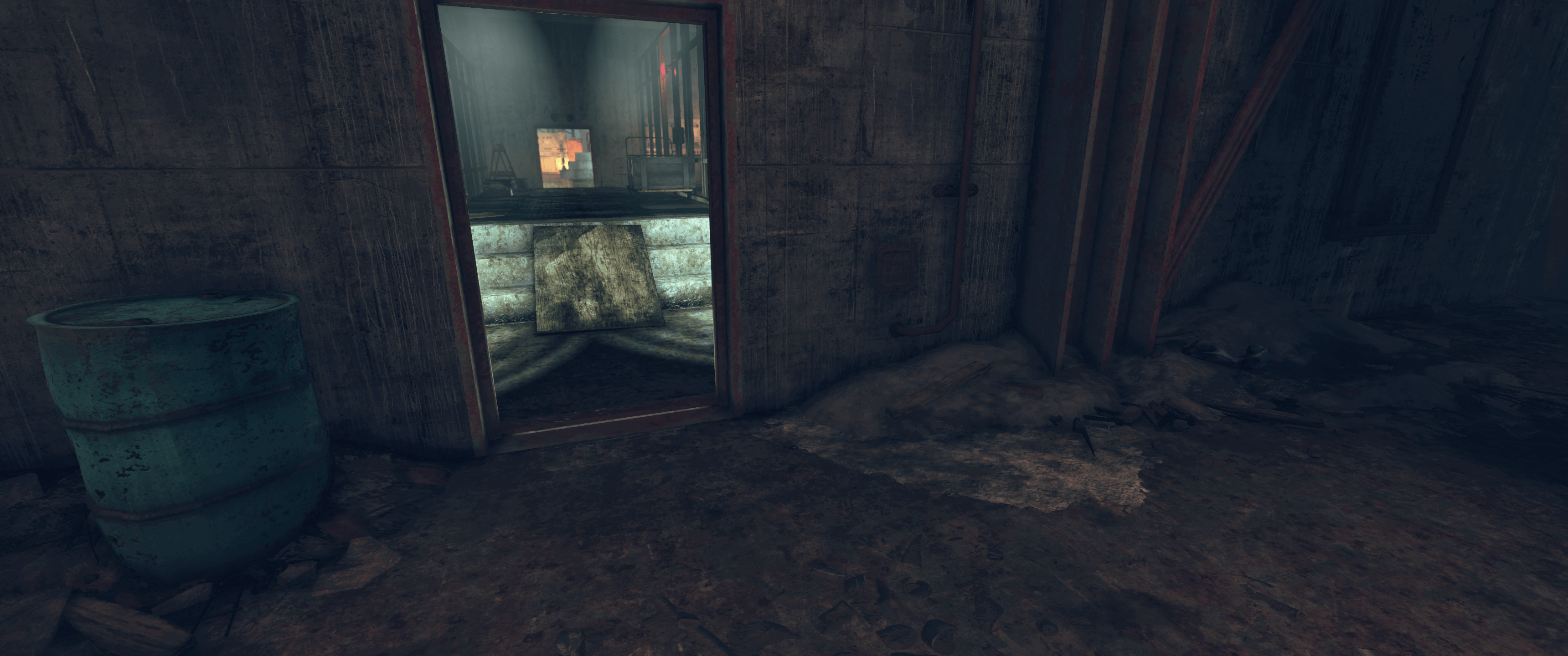 Fallout 76 - Tonne an der Seite