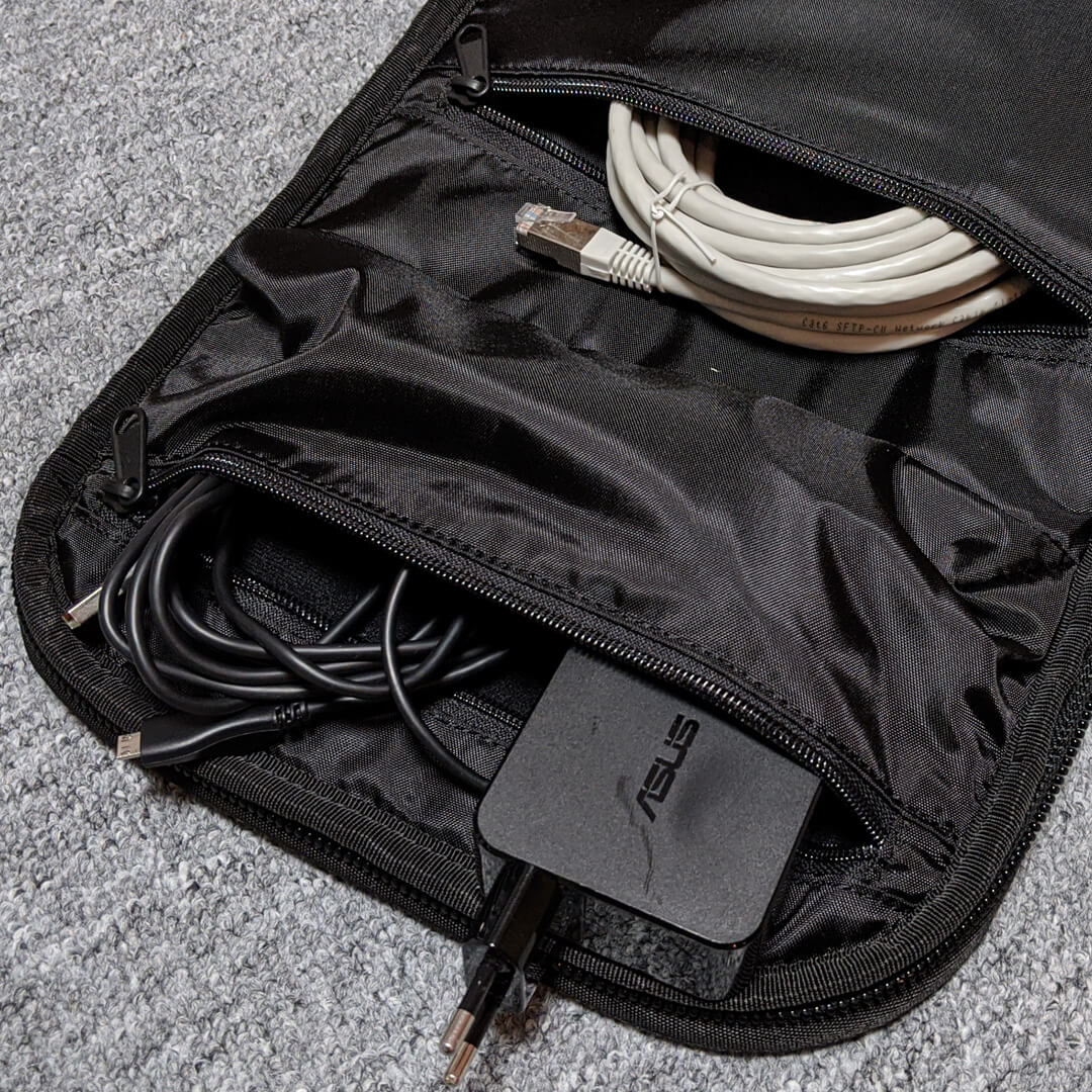 Gaming Rucksack Ority One Kabel