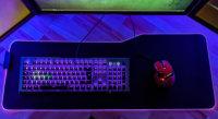 Mousepad für Tastatur und Maus
