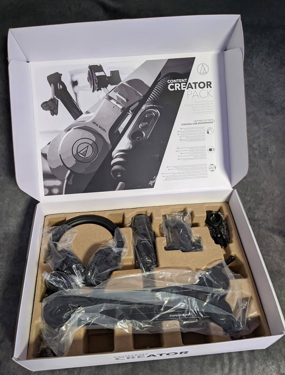 audio-technica Creator Pack 2