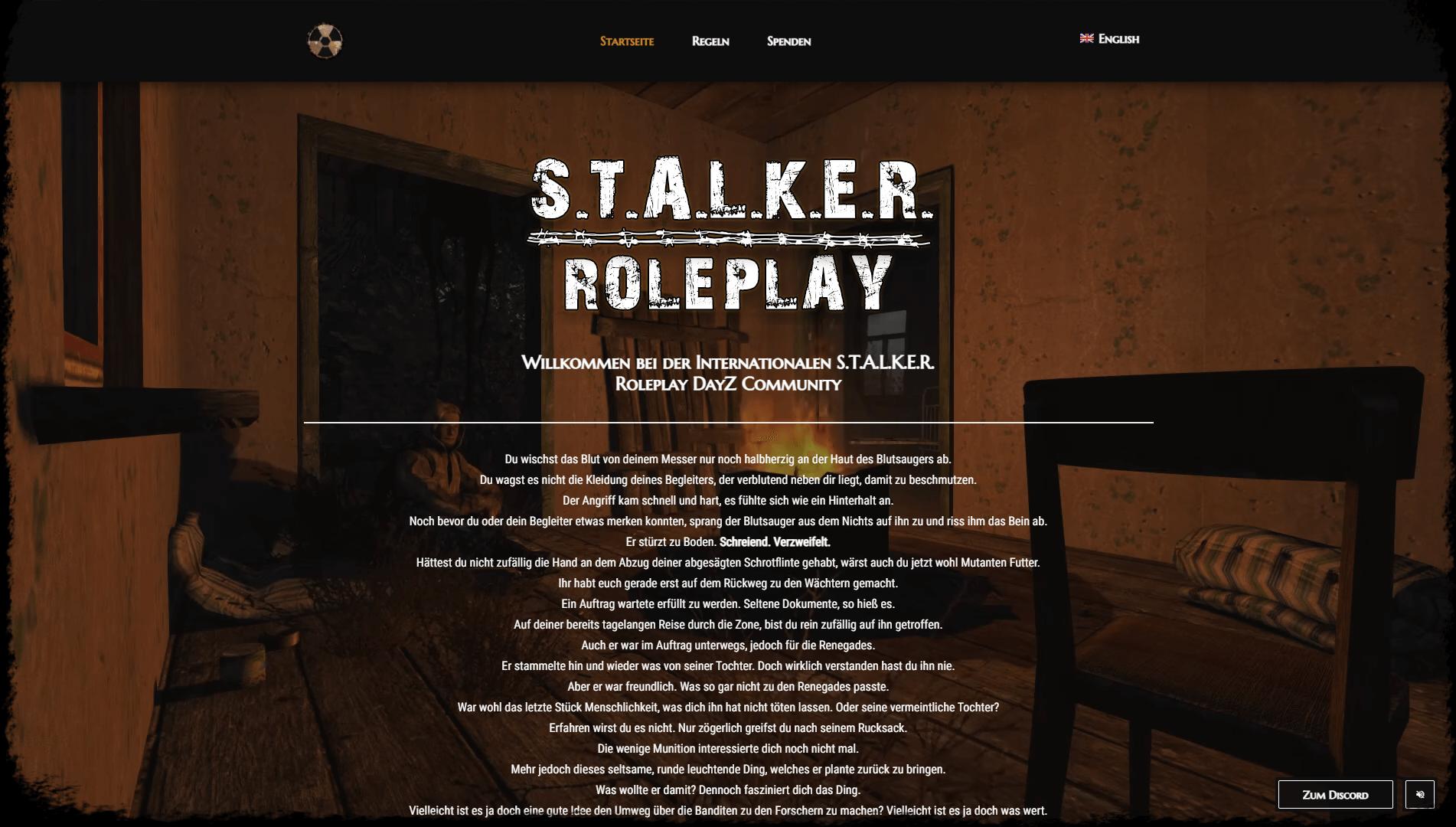 stalker-roleplay.com Screenshot