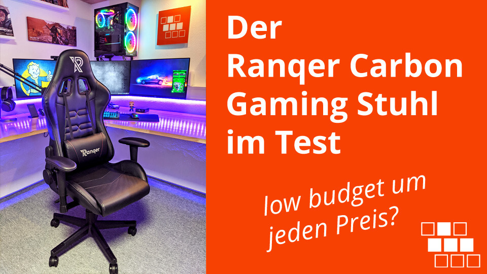 Ranqer Carbon Gaming Stuhl