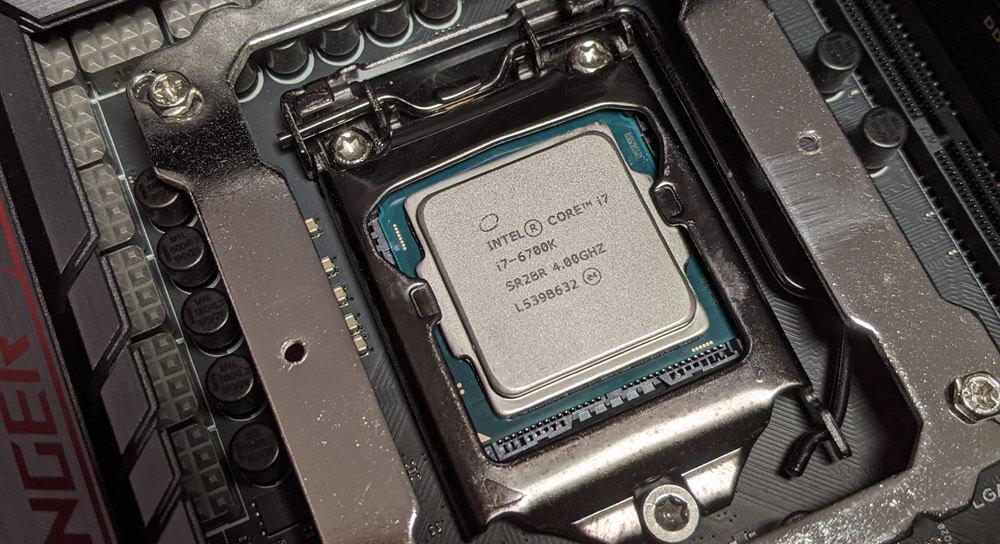 AiO Wasserkühlung - CPU